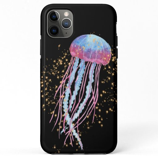 Sparkly Jellyfish iPhone 11 Pro Max Case