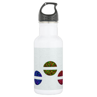 Sparkly jewels stainless steel water bottle