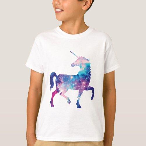 Sparkly Magical Unicorn T_Shirt