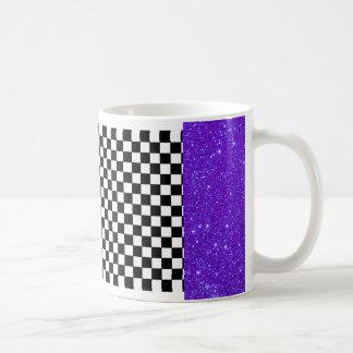 Sparkly Mugs Party Fun Tableware Checkerboard