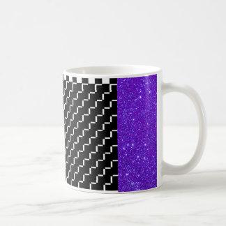 Sparkly Mugs Party Fun Tableware Checkerboard 4a