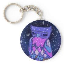 Sparkly Owl Keychain
