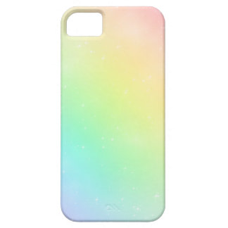 Sparkly Pastel Rainbow Sky iPhone 5 Case