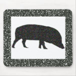 Sparkly Pig Mousepad Mouse Pad