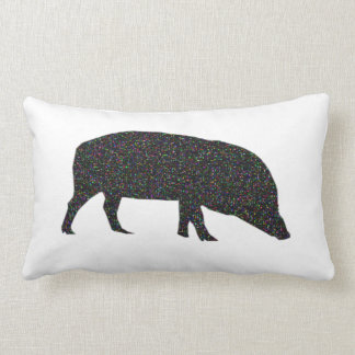 Sparkly Pig Pillow