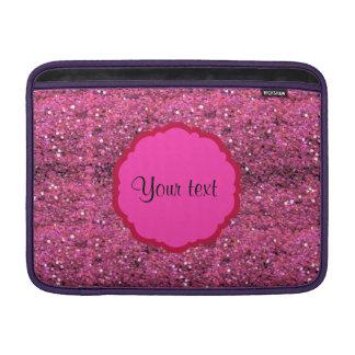Sparkly Pink Glitter MacBook Air Sleeve