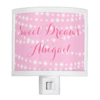 Sparkly Pink Night Light