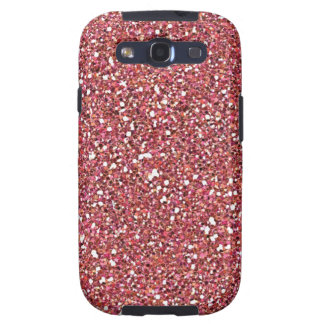 Sparkly pink Samsung galaxy vibe case Galaxy S3 Cases