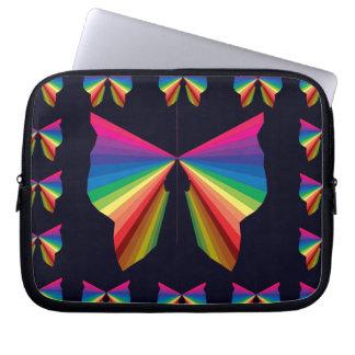 Sparkly Rainbow Laptop iPad Case CricketDiane Laptop Computer Sleeves