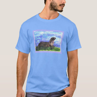Sparkly River Otter T-Shirt
