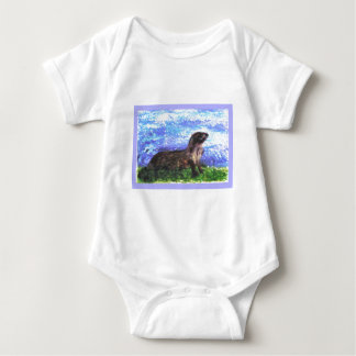 Sparkly River Otter T-shirts