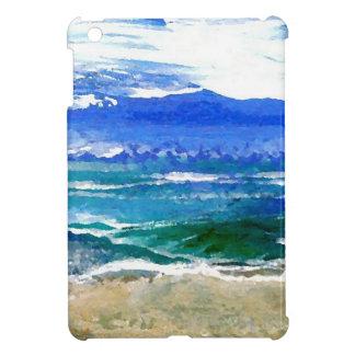 Sparkly Sea Ocean Beach Surf Gifts Sea Waves iPad Mini Case