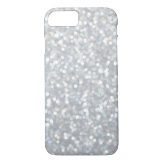 Sparkly Silver iPhone 7 Case