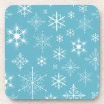 Sparkly Snowflakes Coasters