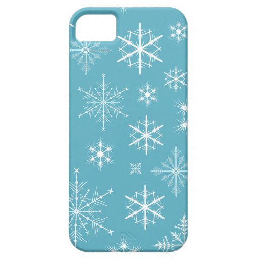 Sparkly Snowflakes Phone Case iPhone 5 Case