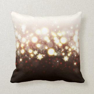 Sparkly stars fireworks magical fairy dust pillow