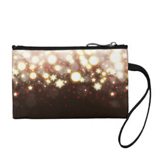 Sparkly stars fireworks magical fairy dust wallet change purses