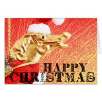 SPARKLY STEED 5x7 Greeting Card