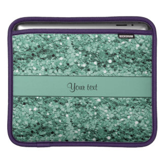 Sparkly Teal Glitter Sleeve For iPads
