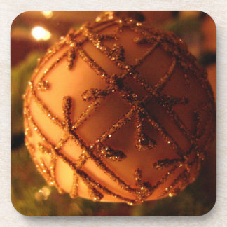 Sparkly Tree Decoration; Merry Christmas Coaster