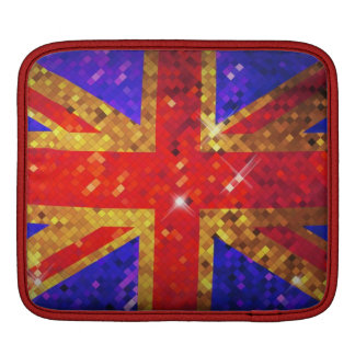 Sparkly UK Flag  iPad Sleeve