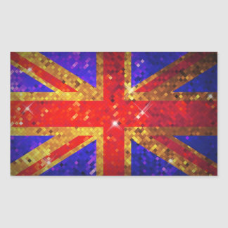 Sparkly UK Flag Stickers