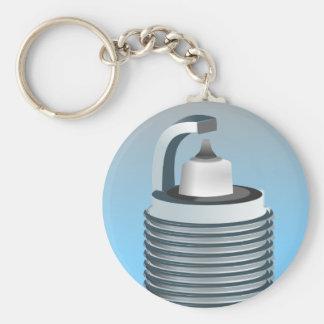 Sparkplug Keychains