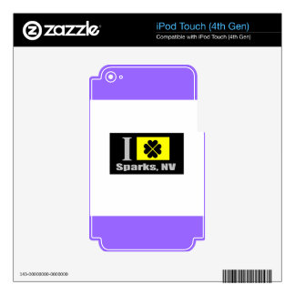 Sparks, NV Fan Goods iPod Touch 4G Skin