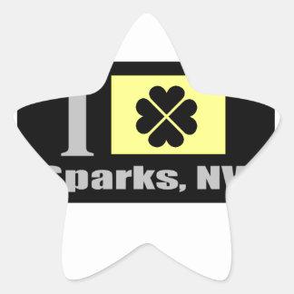 Sparks, NV Fan Goods Star Sticker