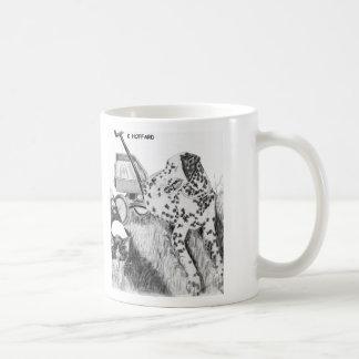"""Sparky and Boo"" Classic White Coffee Mug"