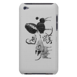Sparky and Perse: Love at First Spark iPod Case-Mate Case
