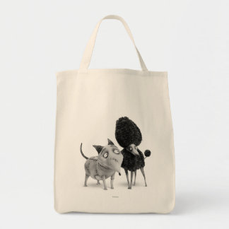 Sparky and Persephone Canvas Bags