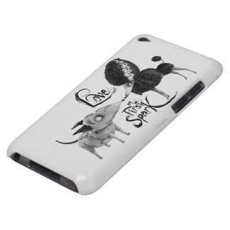 Sparky and Persephone: Love at First Spark Barely There iPod Case