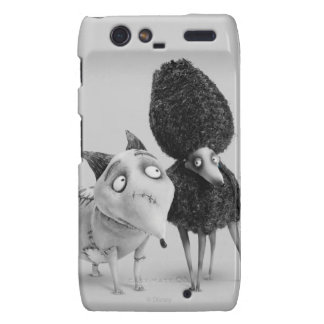 Sparky and Persephone: Love at First Spark Droid RAZR Cases