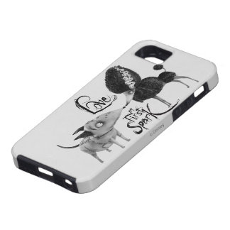 Sparky and Persephone: Love at First Spark iPhone 5 Cover