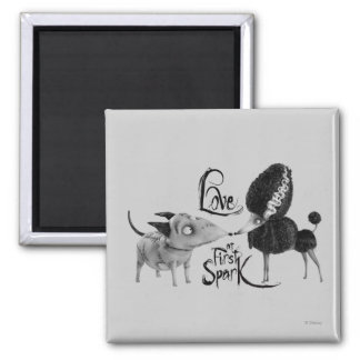 Sparky and Persephone: Love at First Spark Magnet