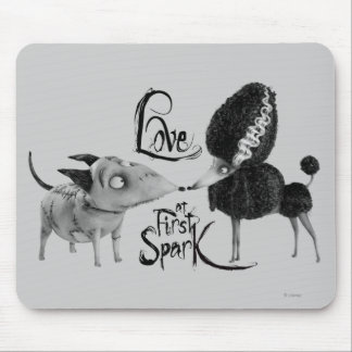 Sparky and Persephone: Love at First Spark Mouse Pad