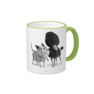 Sparky and Persephone Ringer Mug