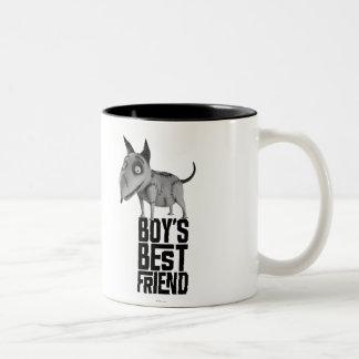 Sparky: Boy's Best Friend Two-Tone Coffee Mug