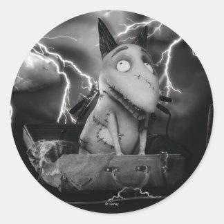 Sparky Classic Round Sticker