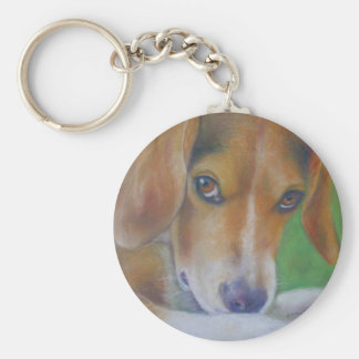 Sparky Dog:  Eyes Keychain