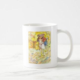 Sparky Dog goes to medical school Classic White Coffee Mug