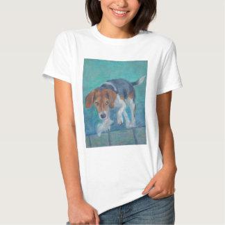 Sparky Dog:  The Trash Hound Beagle Tee Shirt