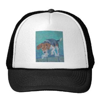 Sparky Dog:  The Trash Hound Beagle Trucker Hat