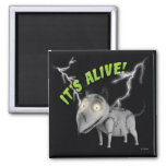 Sparky: It's Alive 2 Inch Square Magnet