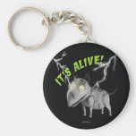 Sparky: It's Alive Basic Round Button Keychain