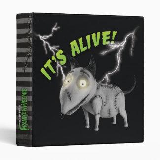 Sparky: It's Alive Vinyl Binder
