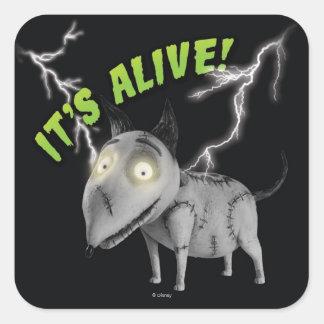 Sparky: It's Alive Square Sticker