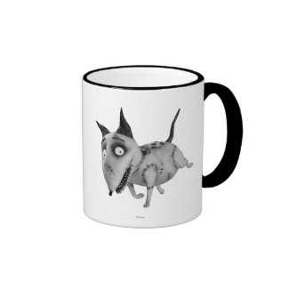 Sparky Running Ringer Coffee Mug
