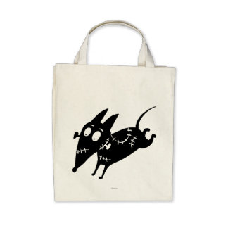 Sparky Running Silhouette Bag